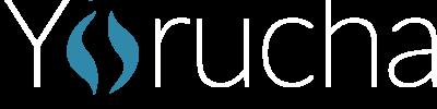 Yorucha logo Final OL white